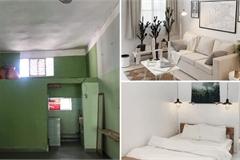 Hô biến căn hộ chung cư cũ 25m² thành homestay đẹp lung linh, cho thuê được chục triệu mỗi tháng