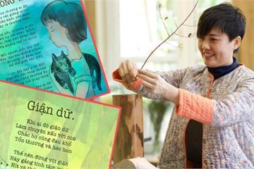 Gặp người mẹ Huế làm thơ gây sốt cộng đồng mạng vì quá hay cho trẻ em