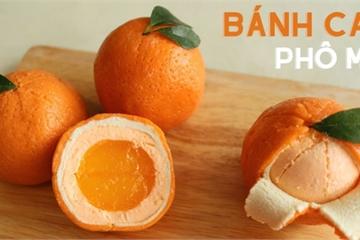 Bố đảm Hà Nội trổ tài làm 1 trái cam nhưng không phải cosplay bánh bao khiến chị em thích mê!