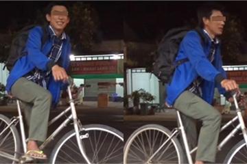 Nhói lòng hình ảnh người đàn ông đạp xe từ Sài Gòn về quê Cà Mau sau khi bị cắt giảm nhân sự