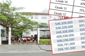 Học phí trường quốc tế tại TP.HCM cao ngất ngưởng: Học 1 năm bằng người ở quê nuôi con đến 20 tuổi