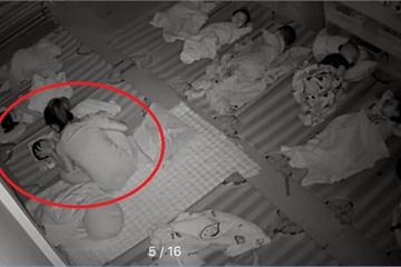 """Hành động giữa trưa của cô giáo mầm non khiến mẹ Hà Nội """"lịm tim"""", mừng thầm"""