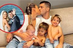 """Bị bố vợ """"chủ tịch"""" cản chân, chàng cầu thủ lừng danh Morata vẫn thành công cưới cô dâu sau 8 tháng quen biết!"""