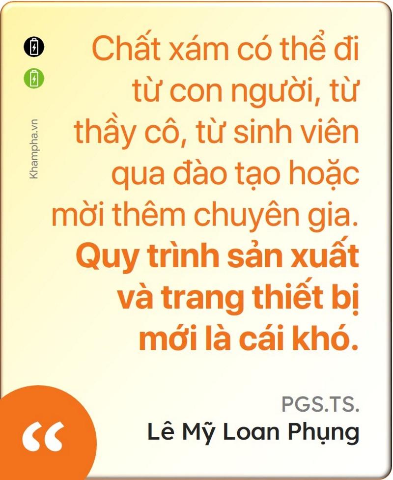 PGS.TS Lê Mỹ Loan Phụng: Người 'mở đường' cho pin sạc Việt Nam - 10