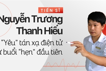 TS Nguyễn Trương Thanh Hiếu: 'Yêu' tán xạ điện tử từ buổi 'hẹn' đầu tiên