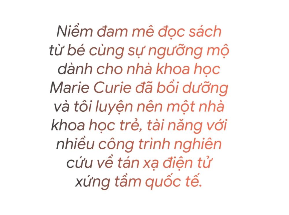 TS Nguyễn Trương Thanh Hiếu: 'Yêu' tán xạ điện tử từ buổi 'hẹn' đầu tiên - 3