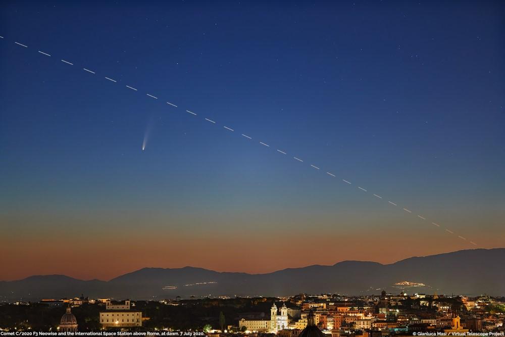 Sao chổi sáng nhất 23 năm thống trị màn đêm thế giới - 6