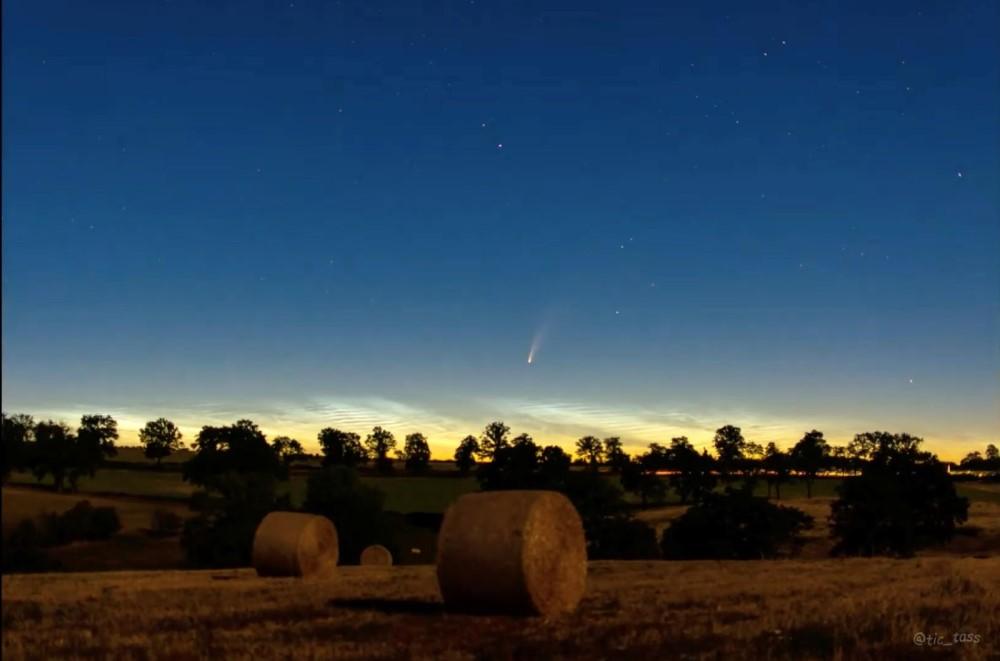 Sao chổi sáng nhất 23 năm thống trị màn đêm thế giới - 7