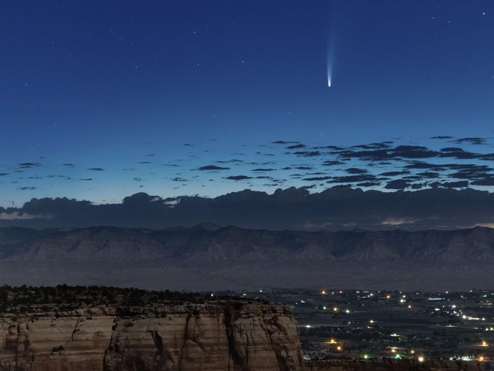 Sao chổi sáng nhất 23 năm thống trị màn đêm thế giới - 8