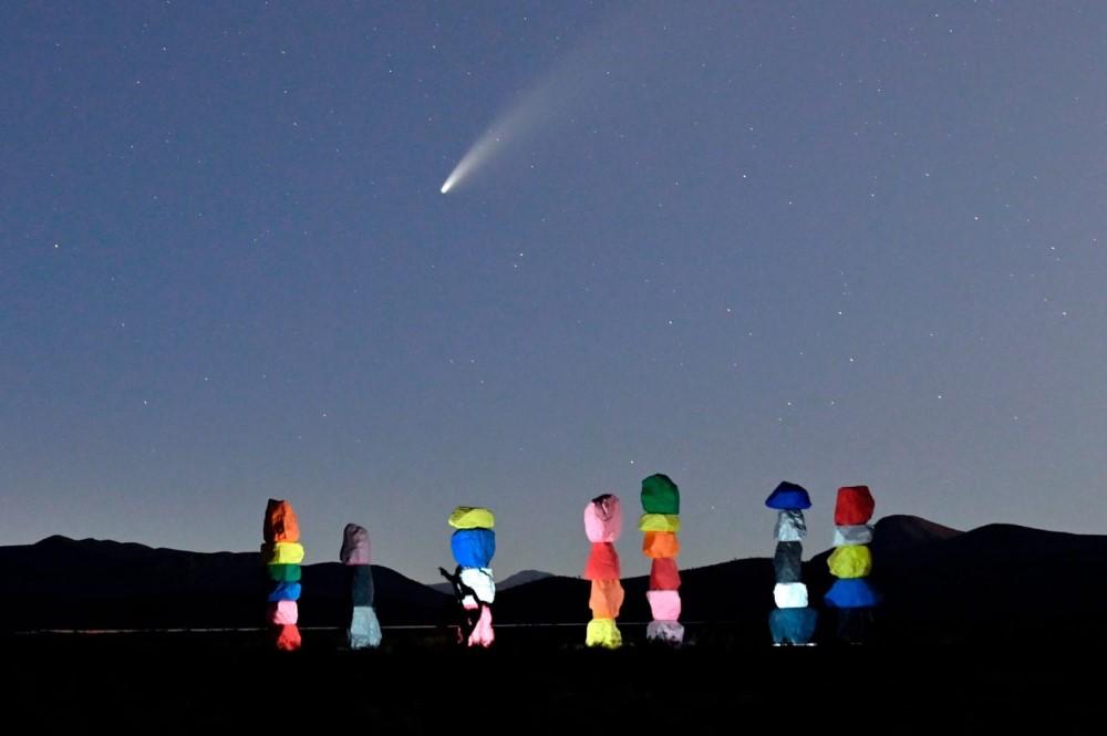 Sao chổi sáng nhất 23 năm thống trị màn đêm thế giới - 16