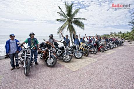 Những tín đồ đam mê Harley-Davidson tại HOG Sài Gòn