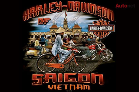 Logo của showroom Harley-Davidson Sài Gòn