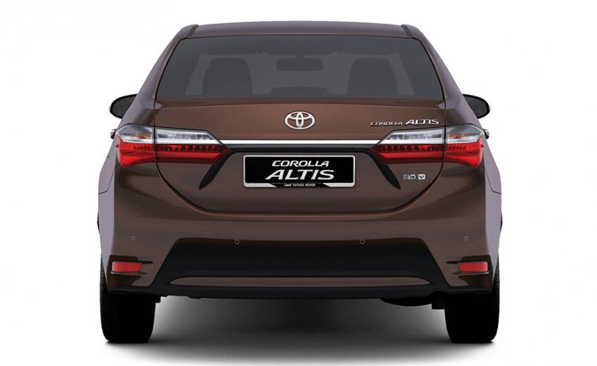 Hé lộ thông số của Toyota Corolla Altis 2017 phiên bản Đông Nam Á - ảnh 2