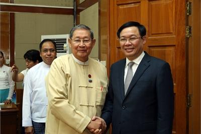 Myanmar cam kết đơn giản hóa thủ tục, tạo thuận lợi cho DN Việt Nam