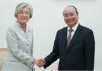 Thủ tướng đề nghị nâng kim ngạch thương mại Việt-Hàn lên 100 tỷ USD