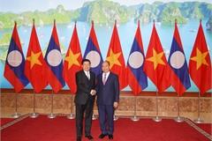 Thủ tướng hai nước Việt - Lào chủ trì kỳ họp Ủy ban liên Chính phủ