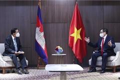 Thủ tướng Phạm Minh Chính gặp gỡ Thủ tướng Campuchia, Singapore, Malaysia