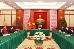 Tổng Bí thư, Chủ tịch nước điện đàm với Bí thư thứ nhất Đảng Cộng sản Cuba