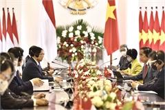 Thủ tướng Phạm Minh Chính hội đàm với Tổng thống Indonesia