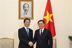 Phó Thủ tướng Vương Đình Huệ đề nghị Trung Quốc tháo gỡ ách tắc nông sản ở các cửa khẩu