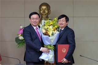 Trao quyết định bổ nhiệm Phó Trưởng ban chuyên trách BCĐ Đổi mới và phát triển DN