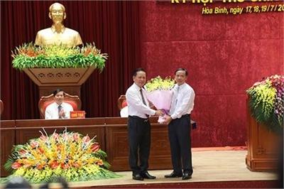 Ông Bùi Văn Khánh làm Chủ tịch tỉnh Hòa Bình