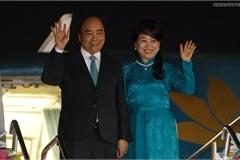 Thủ tướng đến Thái Lan, bắt đầu chuyến tham dự Cấp cao ASEAN
