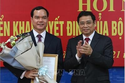 Bộ Chính trị điều động Bí thư Tỉnh ủy Hà Nam nhận nhiệm vụ mới