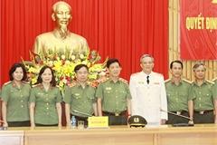 Bộ trưởng Công an bổ nhiệm 3 tân Cục trưởng