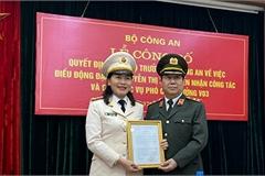 Phó giám đốc Công an Đắk Lắk giữ chức Phó cục trưởng, Bộ Công an
