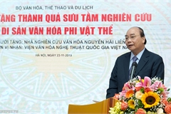 Thủ tướng: Phải biến văn hóa trở thành di sản, tạo sinh kế cho người dân