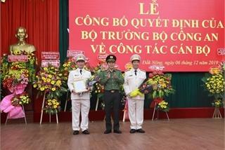 Bộ Công an điều động Giám đốc 2 tỉnh Đắk Lắk, Đắk Nông