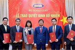 Bổ nhiệm nhân sự Văn phòng Quốc hội, Bộ Ngoại giao