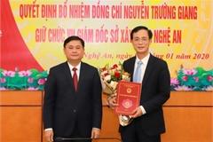Bổ nhiệm nhân sự: Cần Thơ, Nghệ An, Hưng Yên, Tuyên Quang