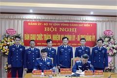 Bổ nhiệm Chính ủy, Bí thư Đảng ủy Vùng Cảnh sát biển 1
