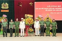 Bộ Công an bổ nhiệm lãnh đạo 8 cơ quan