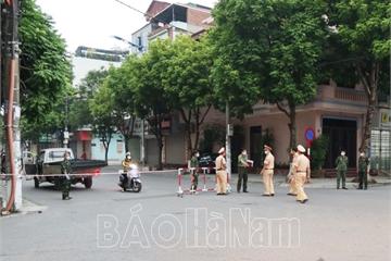Giãn cách xã hội toàn bộ thành phố Phủ Lý từ 18.00' ngày 23/9