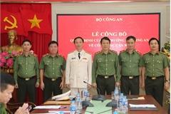 Bổ nhiệm Đại tá Vũ Hoài Bắc làm Cục trưởng Cục An ninh điều tra, Bộ Công an
