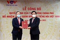 Trao quyết định bổ nhiệm Tổng Giám đốc Đài Tiếng nói Việt Nam
