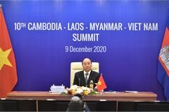Ba ưu tiên hợp tác Campuchia-Lào-Myanmar-Việt Nam
