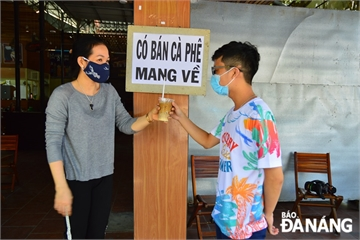 Đà Nẵng: Từ 13 giờ ngày 30/7, dừng kinh doanh đồ ăn uống kể cả bán mang về