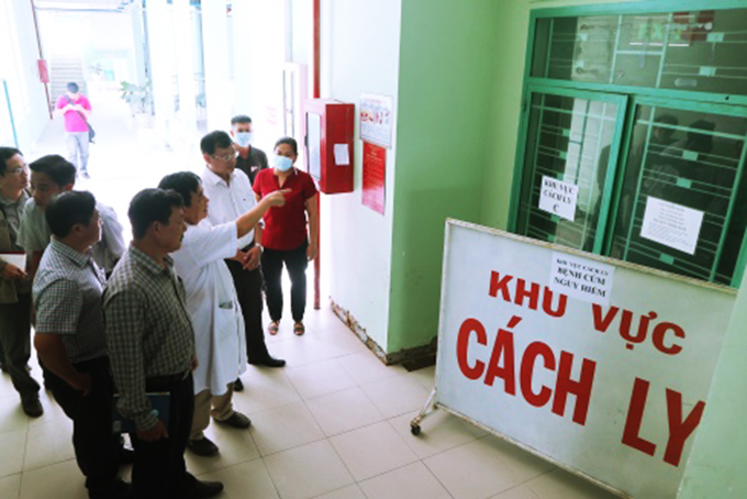 Bệnh nhân L.T.T.H hiện đang được điều trị tại khu vực cách ly Bệnh viện Nhiệt đới tỉnh Khánh Hòa