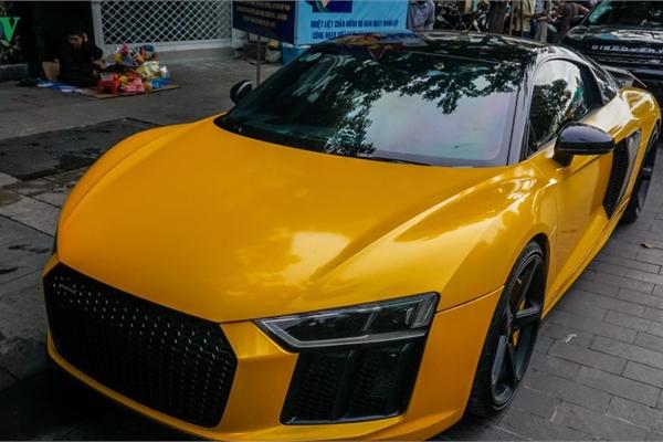 """Audi R8 V10 Plus của Cường """"đô la"""" tái xuất trên phố"""