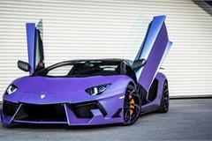 Những siêu xe màu tím độc và đẹp