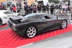 Chiêm ngưỡng chiếc Bugatti độc nhất thế giới với thân bằng carbon