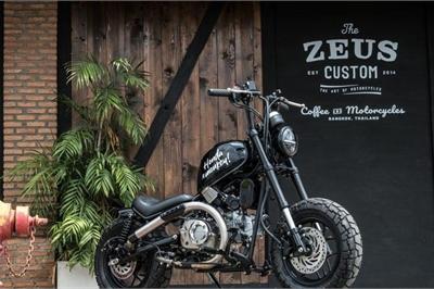 Ngắm Honda Monkey 125 độ thành môtô siêu dị