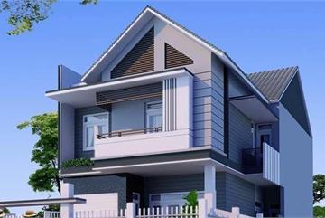 Mẫu nhà mái Thái chỉ từ 700 triệu đẹp miễn chê