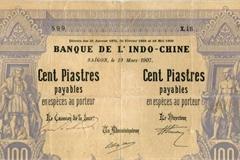 Những tờ tiền ở Việt Nam đầu thế kỷ 20