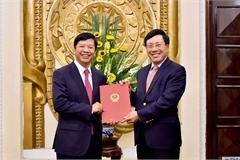 Phó Thủ tướng trao quyết định nghỉ hưu cho Thứ trưởng Bộ Ngoại giao