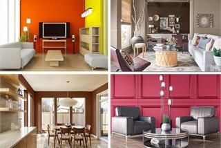 Tiết lộ ý tưởng phối màu sơn nhà đẹp đón Tết
